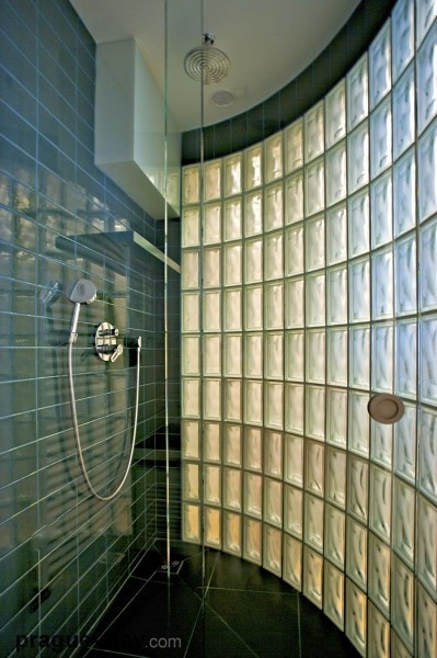Love Glass Block Showers Showers Pinterest Bathroom