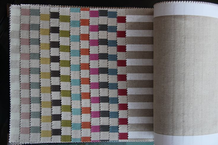 Linen Candy Stripe colourways