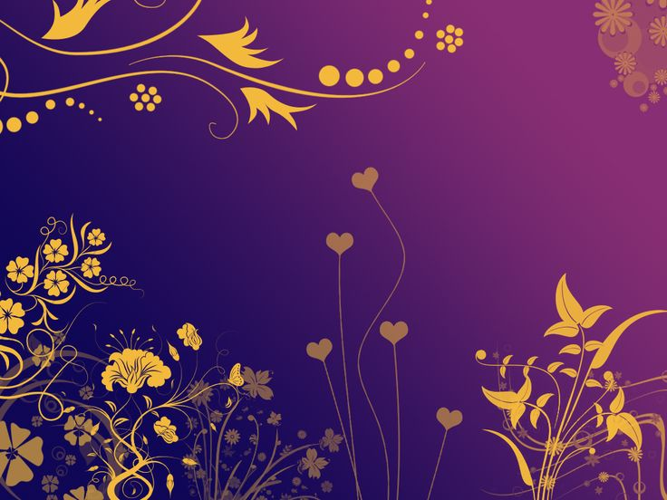 Yellow Flowers In Purple Night By Daemonika On Deviantart