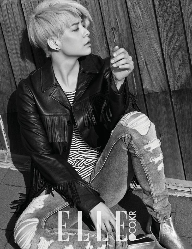 f(x) Amber - Elle Magazine March Issue '15