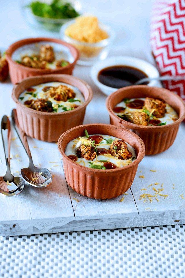 257 best vegetarian recipes images on pinterest indian food dahi pakodi chaat forumfinder Images