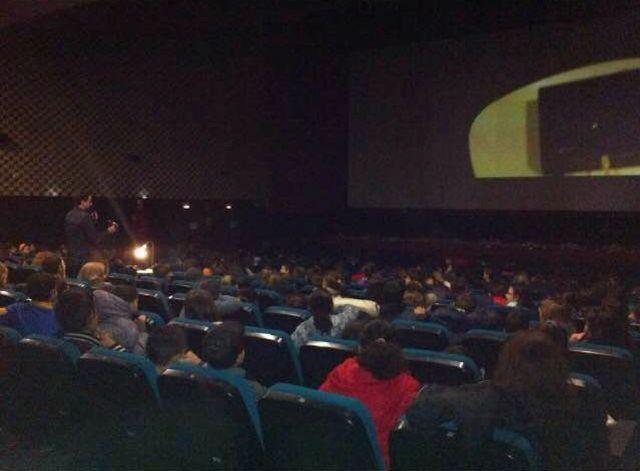 Unos 700 alumnos participan en las actividades didácticas organizadas por Cultura en la Filmoteca Regional, Foto 1 http://www.murcia.com/region/noticias/2015/02/15-unos-700-alumnos-participan-en-las-actividades-didacticas-organizadas-por-cultura-en-la-filmoteca-regional.asp