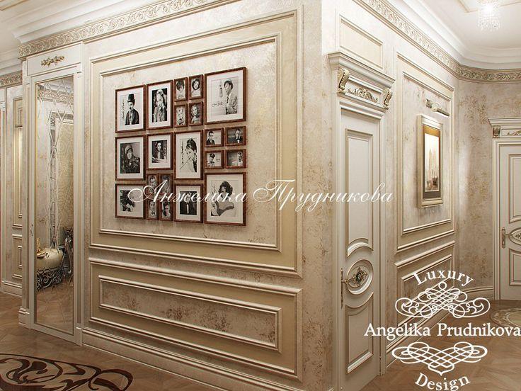 Дизайн интерьеров для квартиры в стиле модерн в ЖК Садовые Кварталы - фото