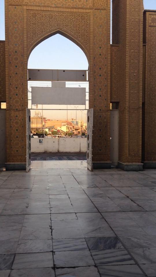 Port of Abu Hanifa Mosque