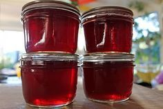 I think this pomegranate champagne jelly may be one of our homemade Christmas gifts this year.