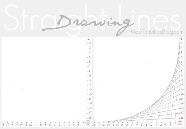 Straight Line Art Tutorial : How to draw a straight line learning