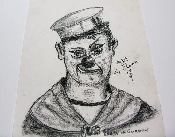 WWII Scary Clown Royal Canadian Navy Uniform  Korky the