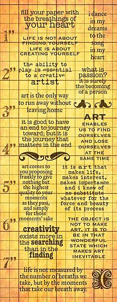 Art Quotes from Invoke Arts