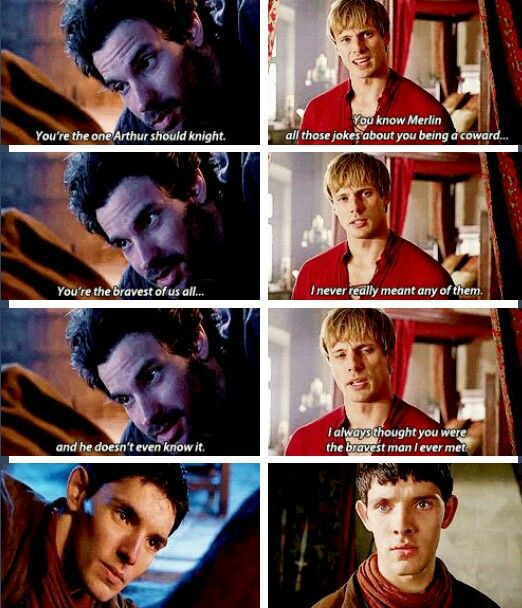 Arthur does know it and all Merlin wanted to do was get his magic back so he could save Arthur!!!!!!!!!