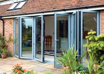 High Quality Bi Fold Doors In UPVC Or Aluminium, With A Range Of Colours