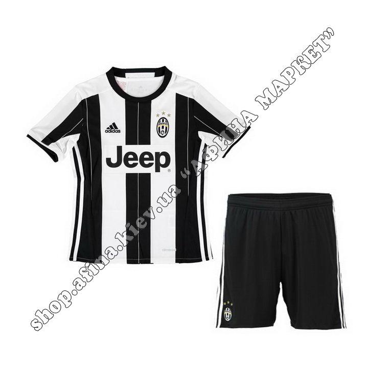 Детская футбольная форма Ювентус Nike домашняя | Купить футбольную форму для детей Juventus Home Kit 2016 Найк