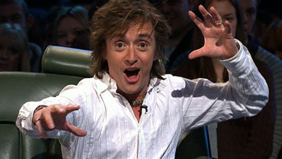 Richard Hammond: very smart guy and so enthusiastic about everything.