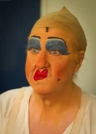 Pantomime dames - I wouldn't suggest following their make up tips!