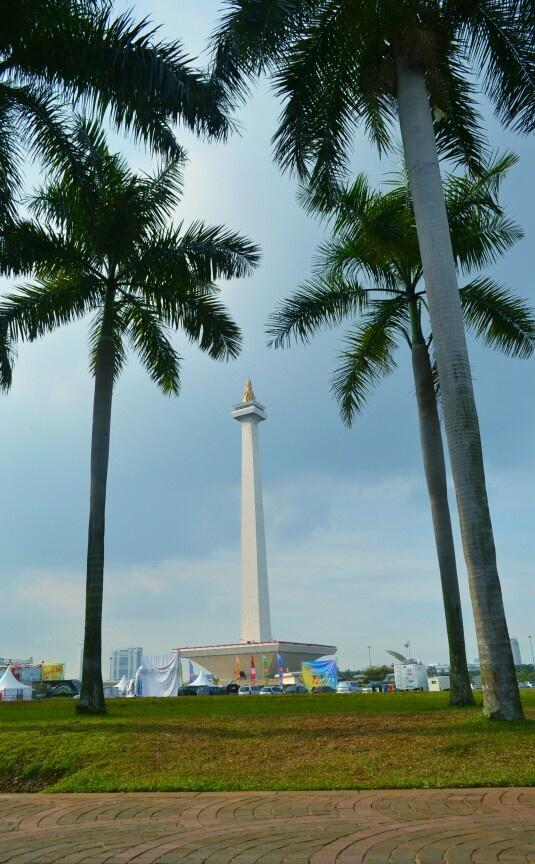 Monas (Monumen Nasional) Jakarta, Indonesia #PINdonesia