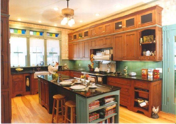 Victorian Kitchen Modern Victorian Kitchen Wooden
