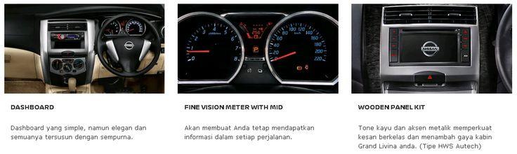 Dashboard Design Grand Livina dari Nissan, Mobil Terbaik Pilihan Keluarga Indonesia