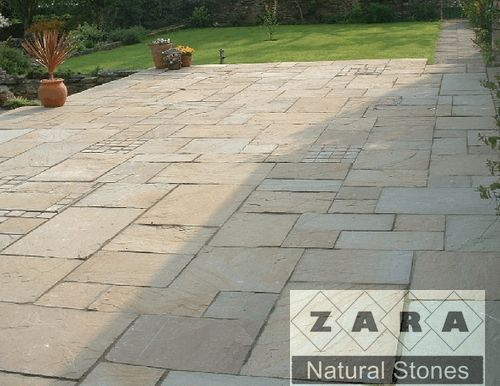 Zara Lavender Patio Pavers Natural Surface With Square