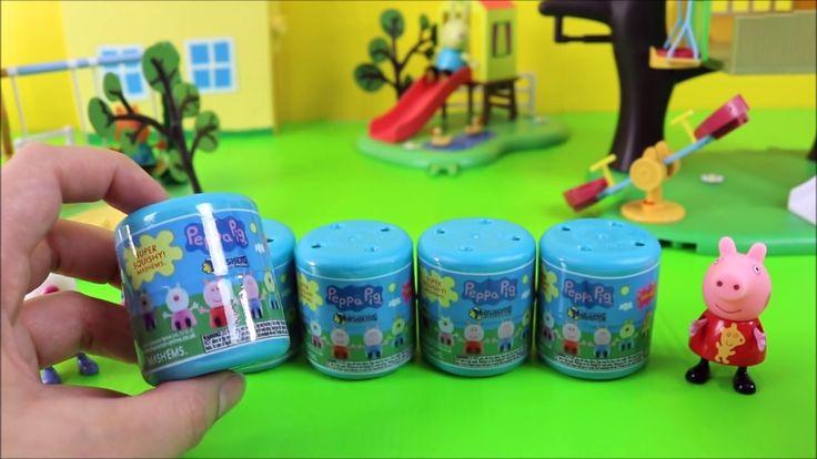 PEPPA PIG Mashems Toys! Squishy Nick Jr Peppa Pig Episode English Cartoo...