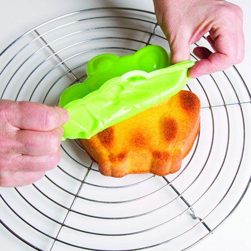 Super grappige cakevorm, voor leuke kikkercakes! €5,99 Kijk snel op www.kleinechef.com