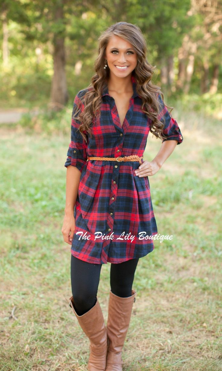 18 Best Check Shirt Outfit Combinations for Girls in All Seasons