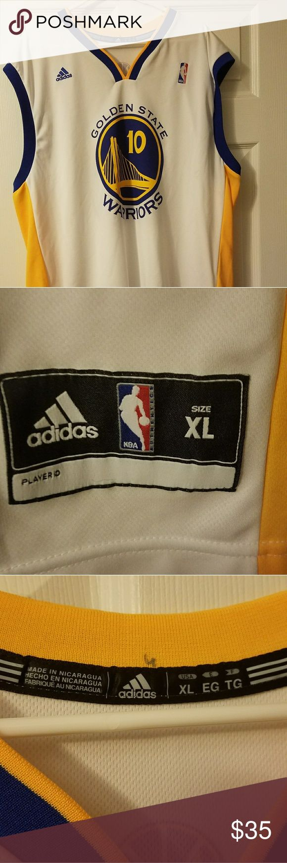 Golden State Warriors David Lee XL jersey I thrifted this item but no longer want it. It appears to be signed by the player but I'm not the original owner so I don't know about its authenticity. adidas Other