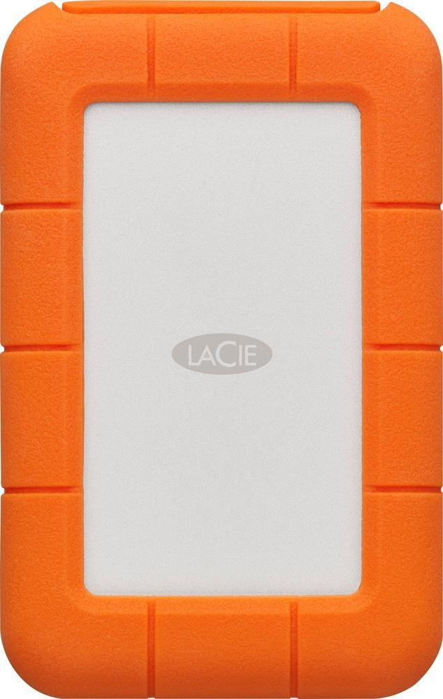 Lacie Rugged 2tb External Thunderbolt And Usb Type C Portable Hard Drive Orange Silver Usb Cool Things To Buy Secure Digital