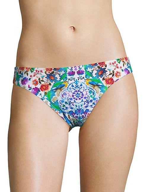 51456de63f LA BLANCA SWIM FLORAL HIPSTER. #lablancaswim #cloth | La Blanca Swim ...
