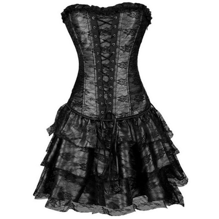 Black Corset Halloween costume