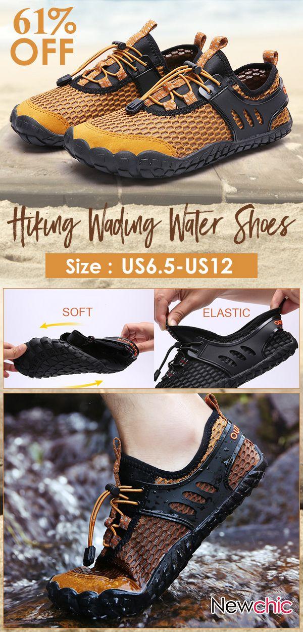Men Mesh Slip Resistant Outdoor Hiking
