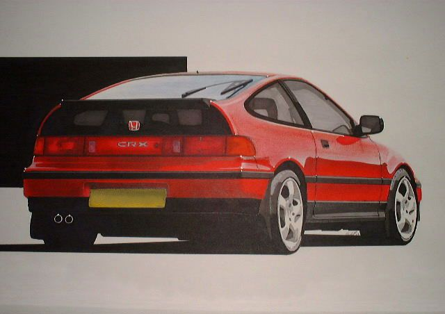 Offical Website For The Honda CRX Owners Group