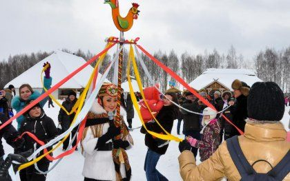 Traditions of the 'Butter Week' - Maslenitsa, Russia