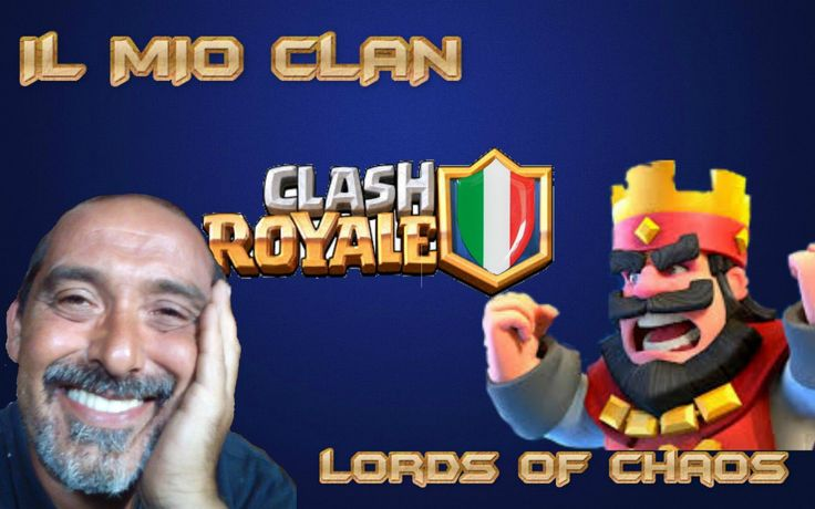 Clash Royale infondo il clan e importante.