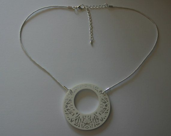 Decorative Circle Design Laser Cut Acrylic by DonnaCoralieDesigns