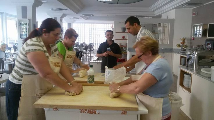 Preparazione di Piada e Cassoni