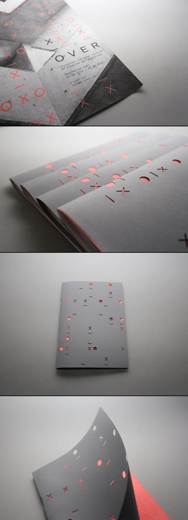 Crossover Festival Promotional Branding Design via Behance - Apply to the Phaf concept?