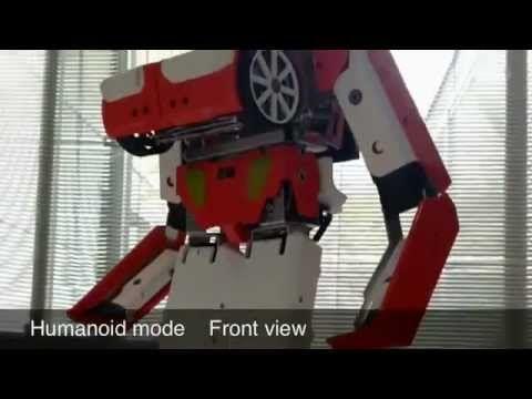 Real-life transforming robot car puts Hasbro toys to shame