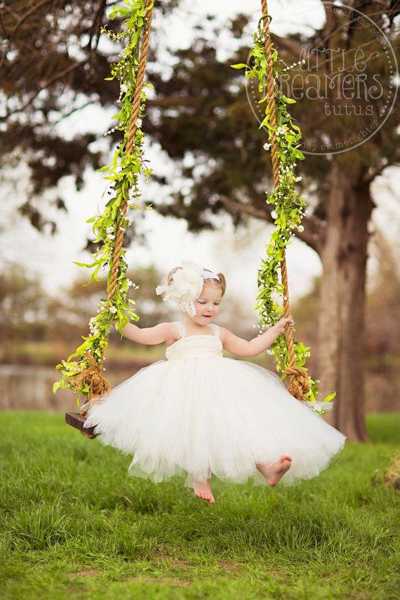 Sweet as Honeysuckle,   flower girl, boho wedding accessory, photography prop, headband via Etsy