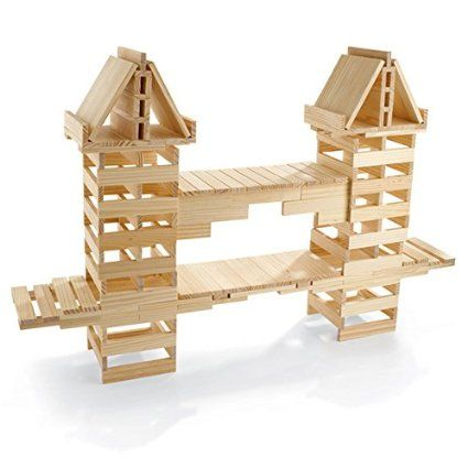 Amazon.com: Structures 200 Plank Set: Toys & Games