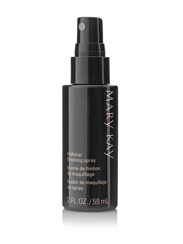Conheça o Spray Fixador de Maquiagem Mary Kay! A fixação que sua maquiagem precisa por até 16 horas!