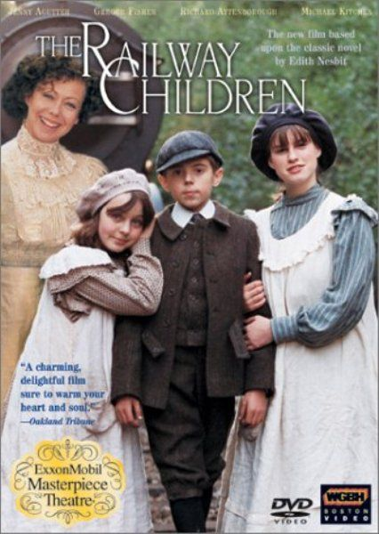 """""""The Railway Children"""" is a heart-warming film based on the book by Edith Nesbitt.  A wonderful story."""