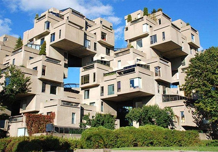 cubic houses in Montreal