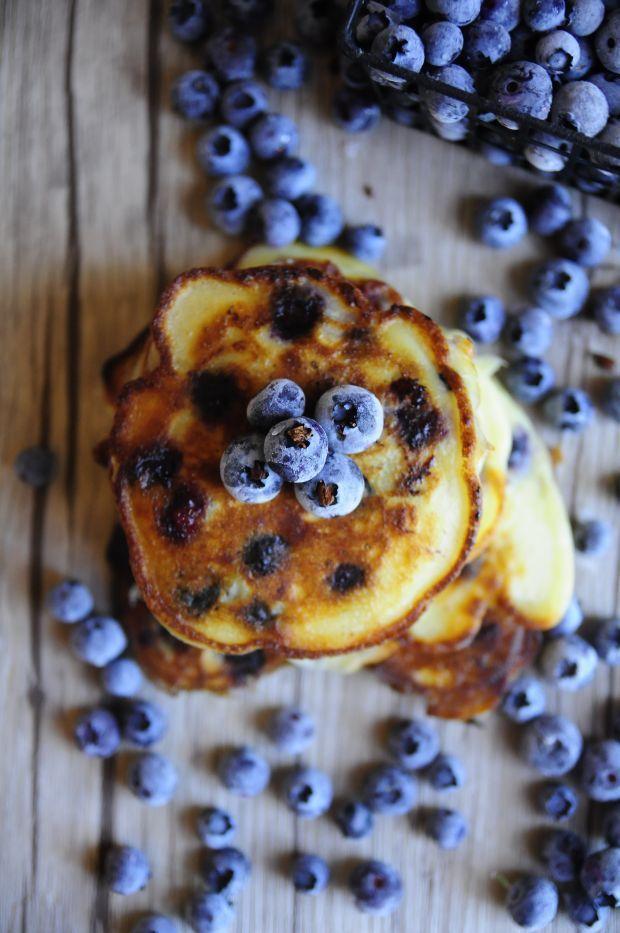 Pancakes z borówką amerykańską