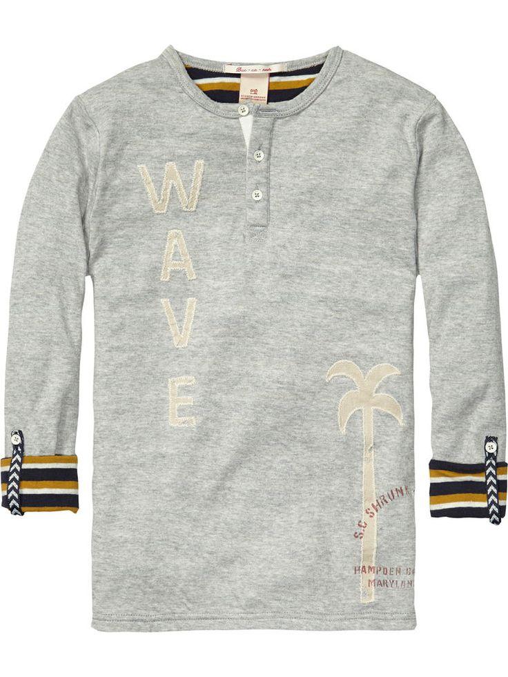 Scotch Shrunk Longsleeve dünner Sweater 2014 NEU lässig