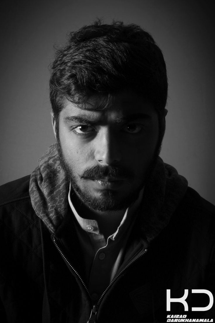 Self Portrait. By Kaizad Darukhanvala who is getting his degree in Photography.