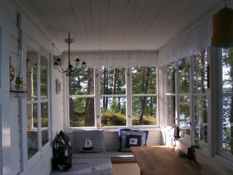 Inside a cabin - Stockholm archipelago