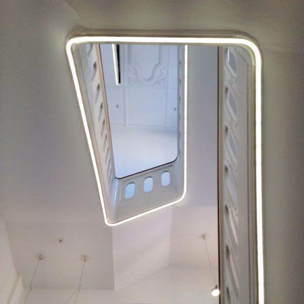 In der Galerie selbst bestaunen wir erst die wahnsinnig schöne Architektur #henrik vibskov #gl strand #galerie gammel strand #copenhagen #neck plus ultra