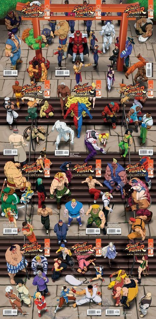 The peoples of street fighters by mr. Shoryuken