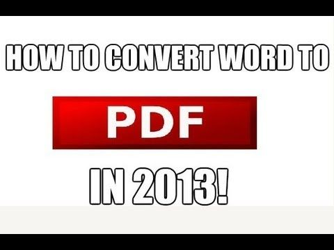 8 ways to make your word doc a pdf file