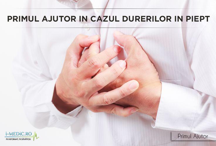 Acordarea primului ajutor acasa se va face in functie de fiecare conditie medicala dupa cum urmeaza - http://www.i-medic.ro/p…/primul-ajutor-cazul-durerilor-piept