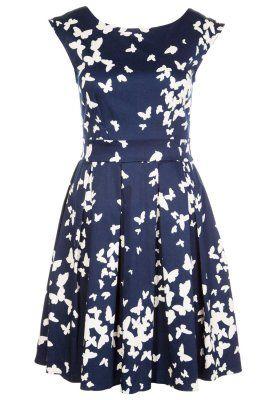 Bring mit dem hübschen Kleid gute Laune in deinen Alltag! Closet Cocktailkleid / festliches Kleid - blau für 64,95 € (09.11.14) versandkostenfrei bei Zalando bestellen.